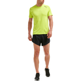2XU GHST T-shirt Homme, wild lime/wild lime
